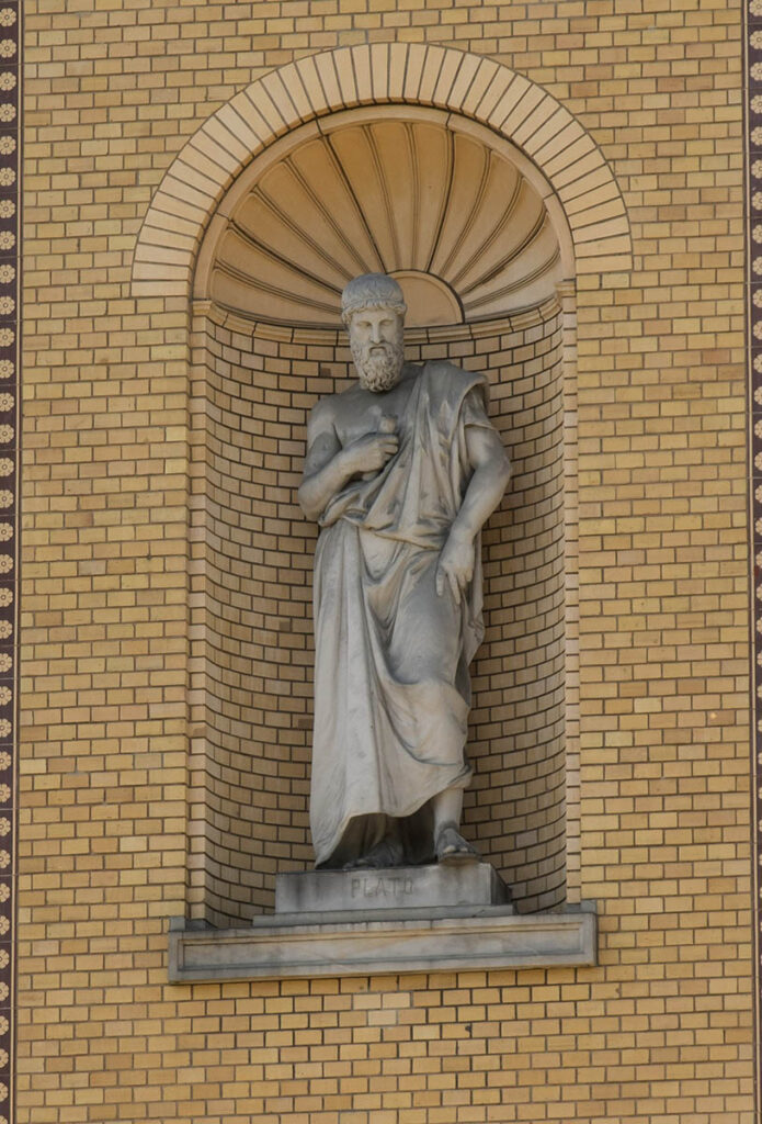 Statue of Plato the philosopher